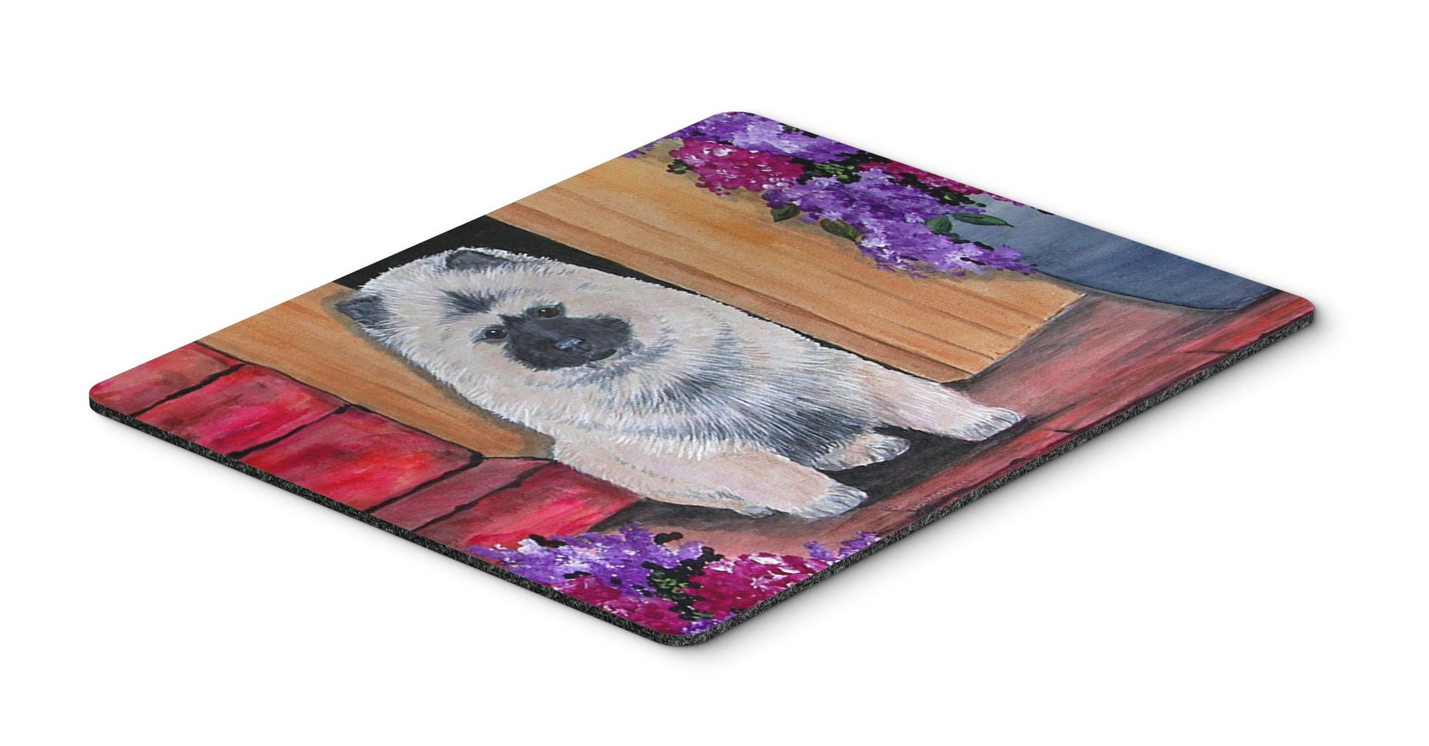 Keeshond Mouse pad, hot pad, or trivet by Caroline's Treasures