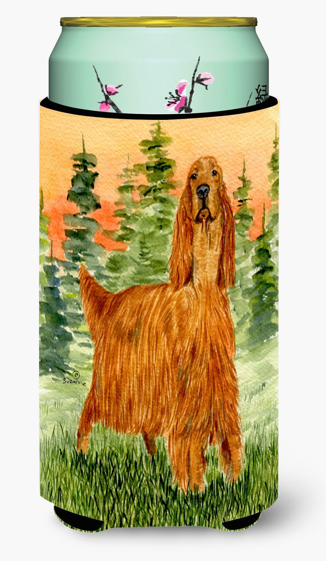 Irish Setter  Tall Boy Beverage Insulator Beverage Insulator Hugger by Caroline's Treasures
