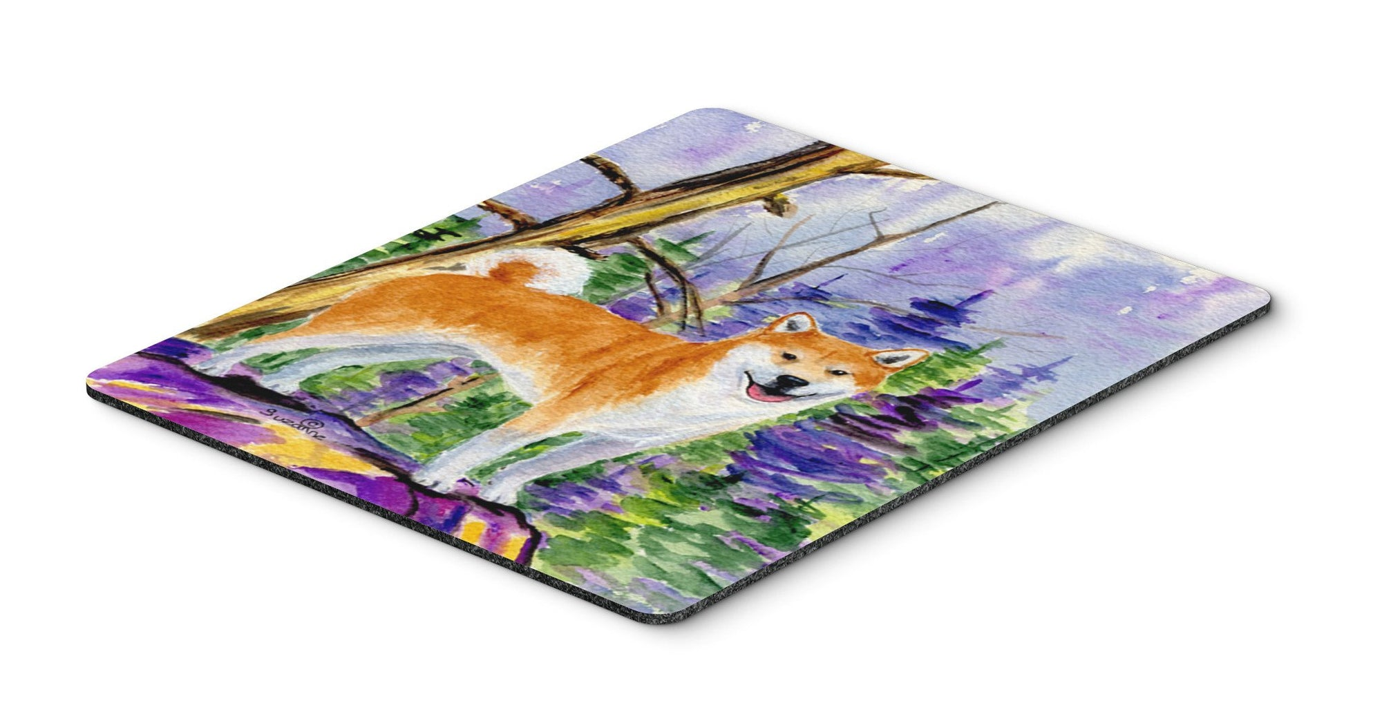 Buy this Shiba Inu Mouse Pad, Hot Pad or Trivet