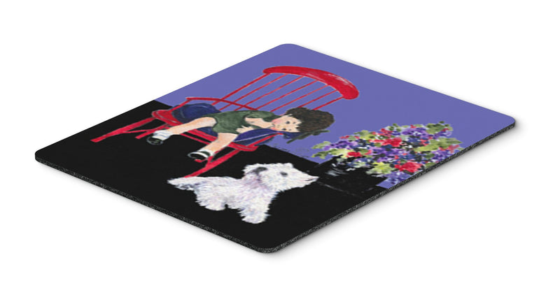 Buy this Westie Mouse Pad, Hot Pad or Trivet