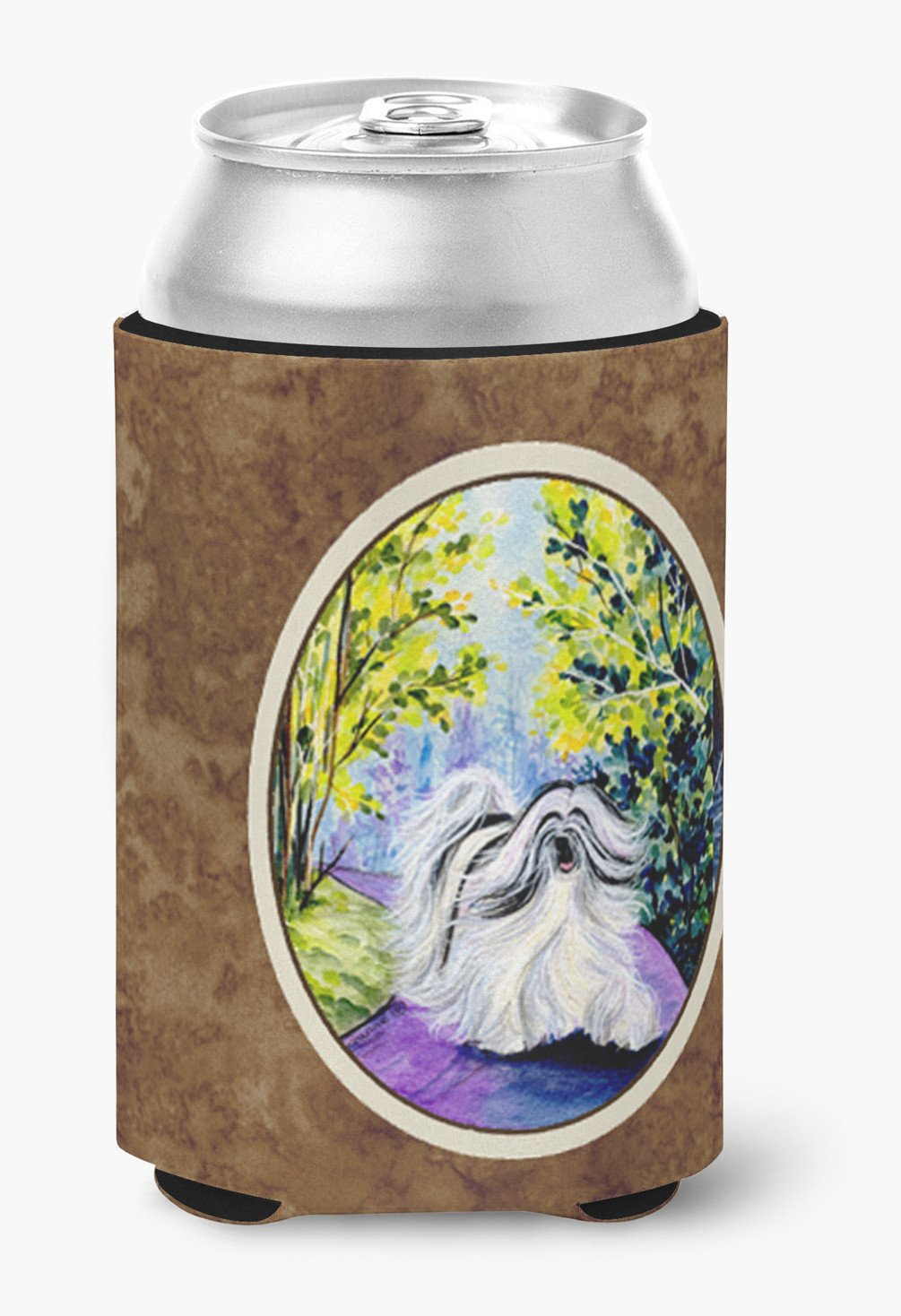 Buy this Tibetan Terrier Can or Bottle Beverage Insulator Hugger