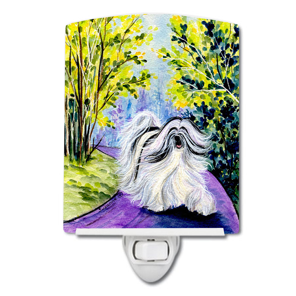 Buy this Tibetan Terrier Ceramic Night Light SS8643CNL