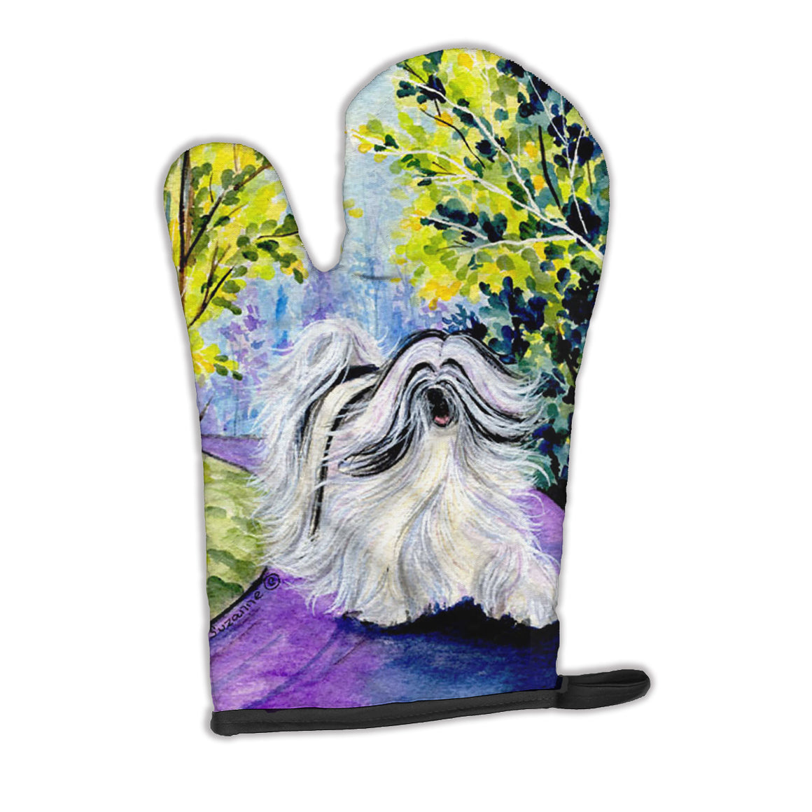 Buy this Tibetan Terrier Oven Mitt SS8643OVMT