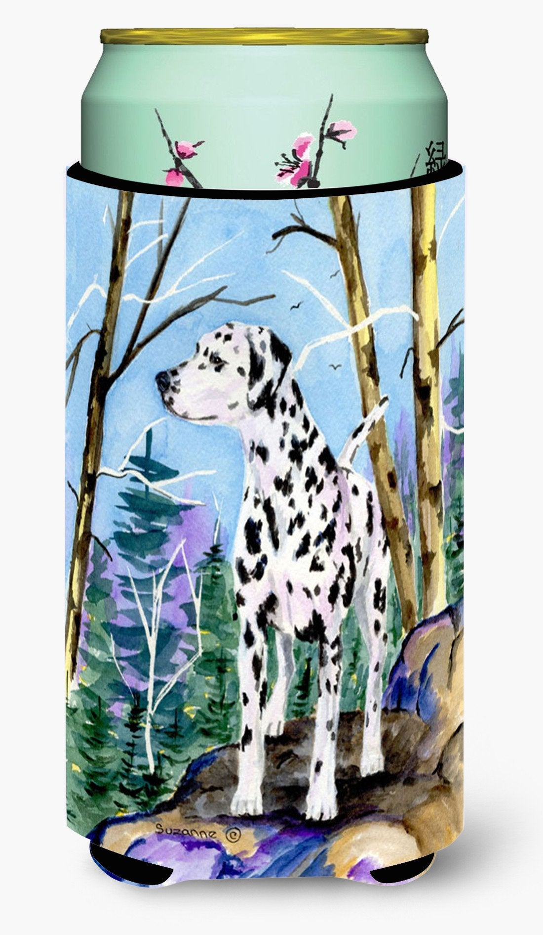 Dalmatian  Tall Boy Beverage Insulator Beverage Insulator Hugger by Caroline's Treasures
