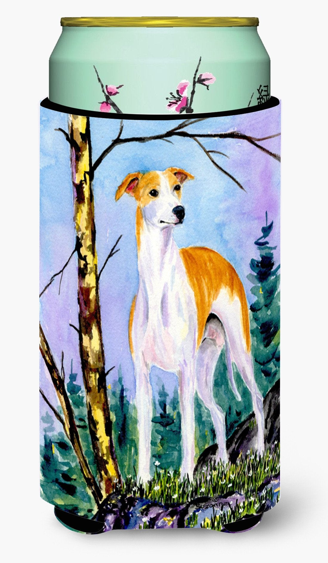 Whippet  Tall Boy Beverage Insulator Beverage Insulator Hugger by Caroline's Treasures