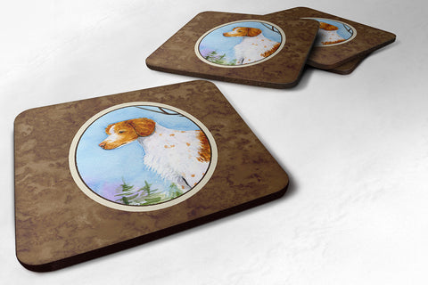 Buy this Set of 4 Setter Foam Coasters