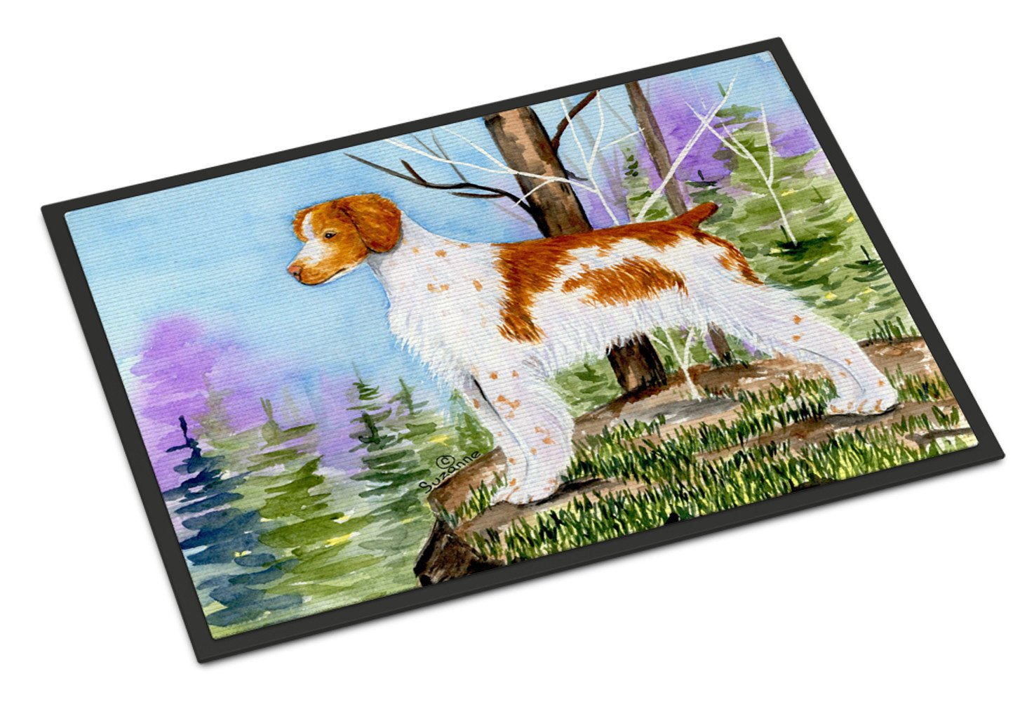 Setter Indoor Outdoor Mat 18x27 Doormat by Caroline's Treasures