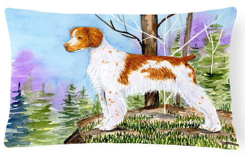 Buy this Setter Decorative   Canvas Fabric Pillow