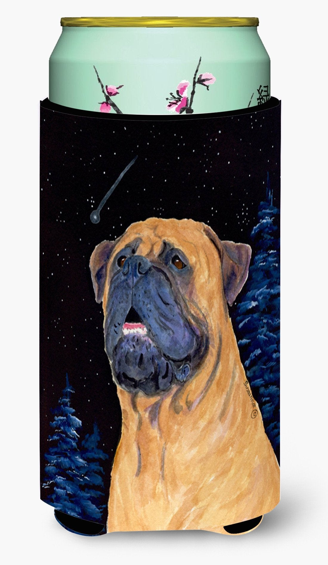 Bullmastiff  Tall Boy Beverage Insulator Beverage Insulator Hugger by Caroline's Treasures