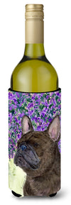 Buy this French Bulldog Wine Bottle Beverage Insulator Beverage Insulator Hugger SS8676LITERK