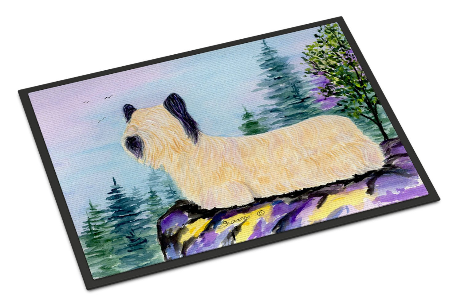 Skye Terrier Indoor Outdoor Mat 18x27 Doormat by Caroline's Treasures