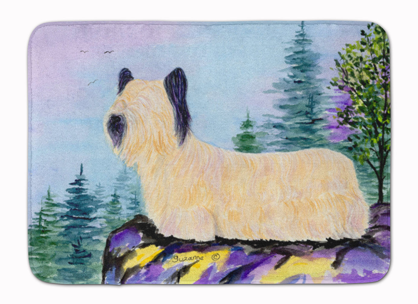 Skye Terrier Machine Washable Memory Foam Mat SS8679RUG by Caroline's Treasures