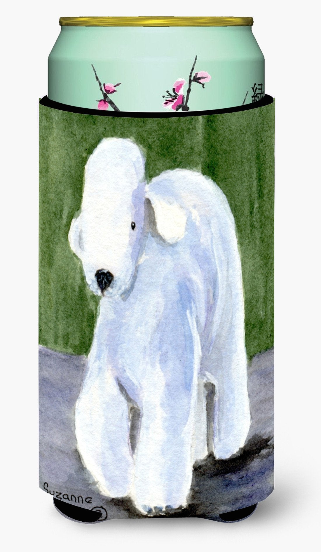 Bedlington Terrier  Tall Boy Beverage Insulator Beverage Insulator Hugger by Caroline's Treasures