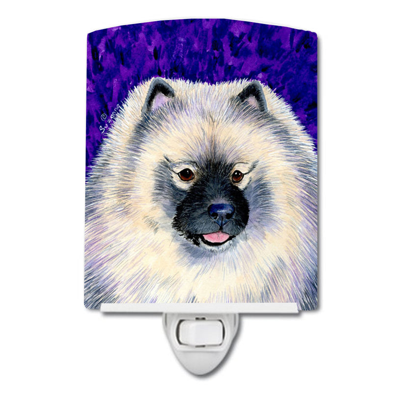 Buy this Keeshond Ceramic Night Light SS8691CNL