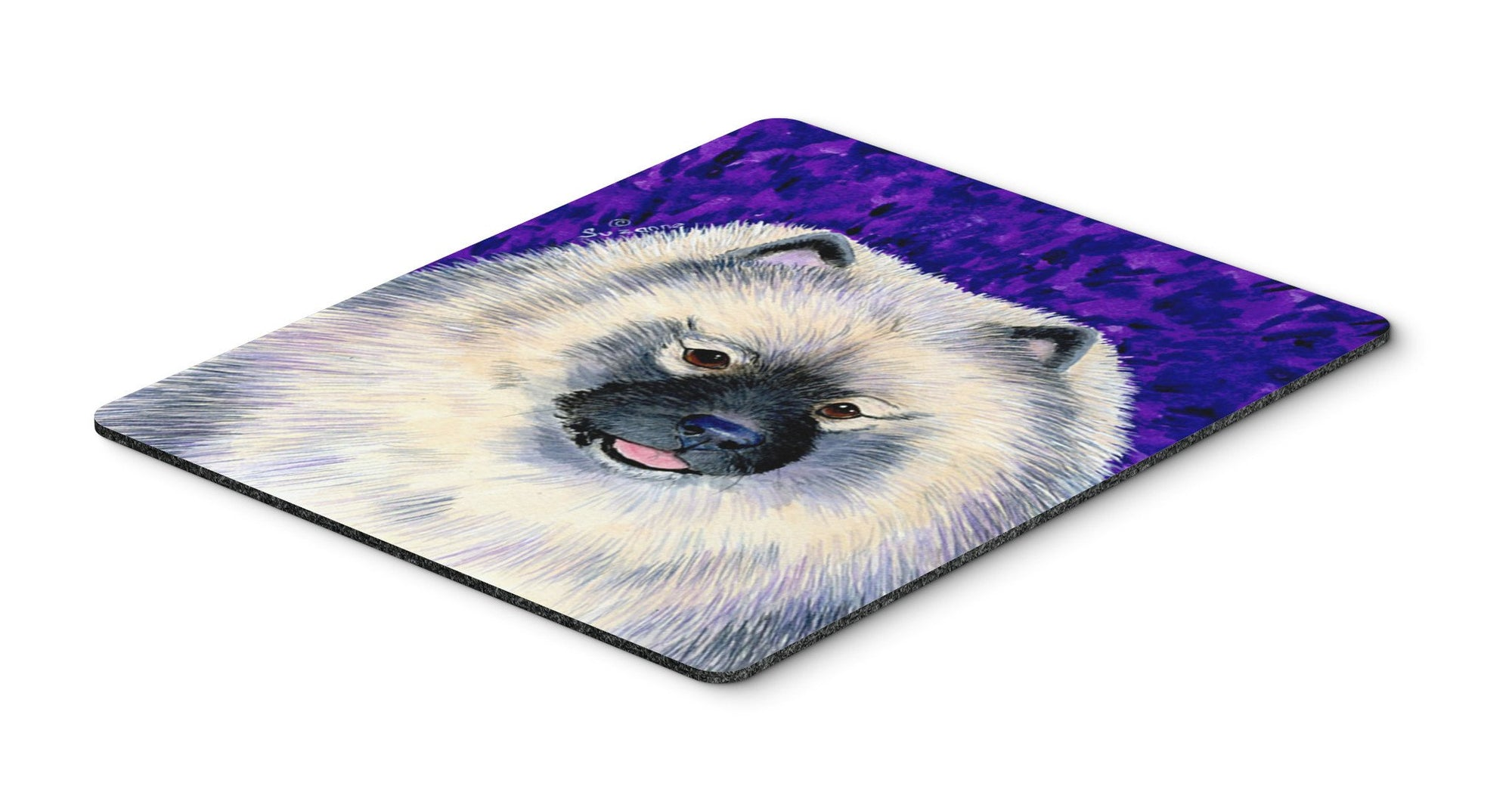 Keeshond Mouse Pad / Hot Pad / Trivet by Caroline's Treasures