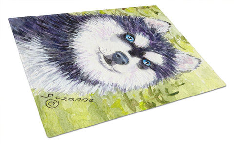 Buy this Klee Kai Glass Cutting Board Large