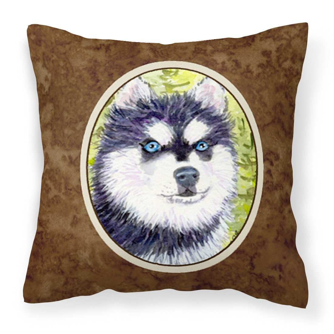 Klee Kai Fabric Decorative Pillow SS8695PW1414 by Caroline's Treasures