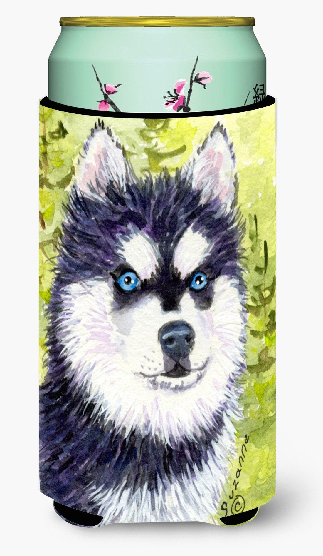 Klee Kai  Tall Boy Beverage Insulator Beverage Insulator Hugger by Caroline's Treasures