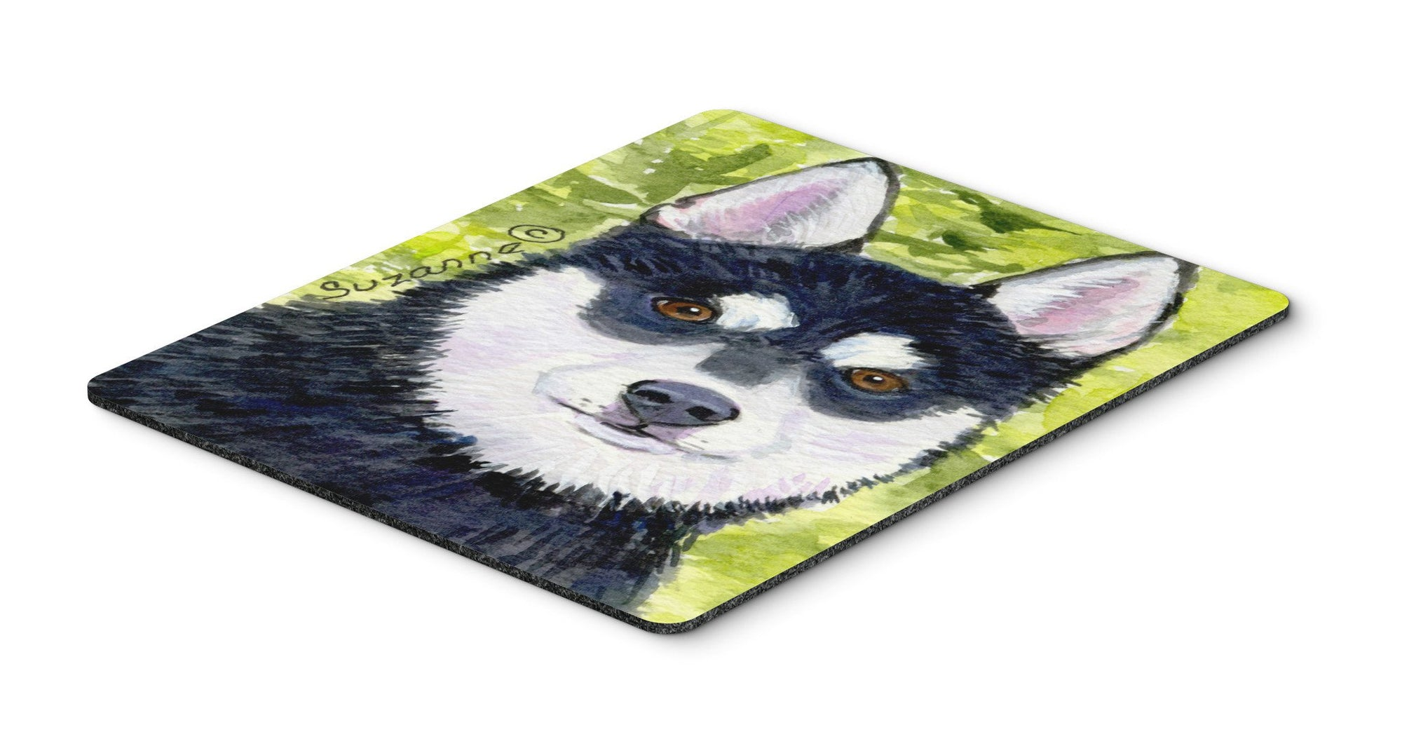 Klee Kai Mouse Pad / Hot Pad / Trivet by Caroline's Treasures