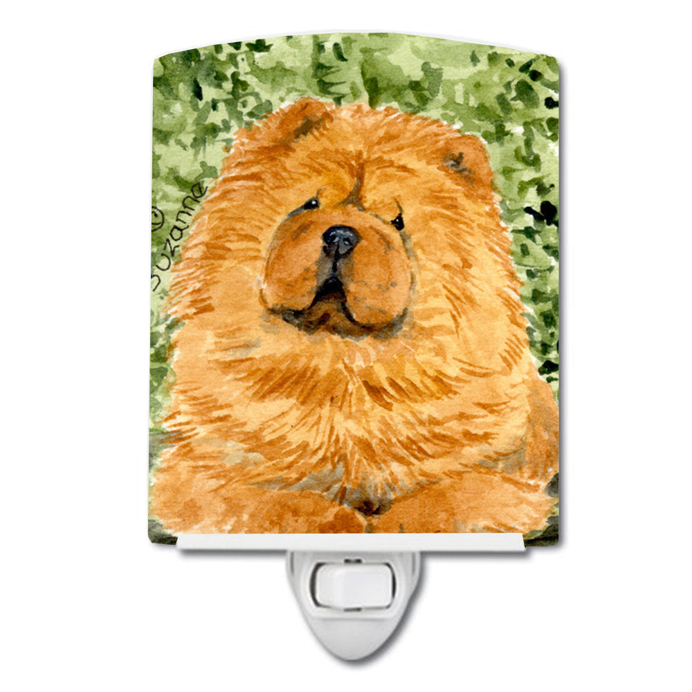 Chow Chow Ceramic Night Light SS8709CNL by Caroline's Treasures