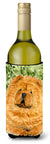 Chow Chow Wine Bottle Beverage Insulator Beverage Insulator Hugger SS8709LITERK by Caroline's Treasures