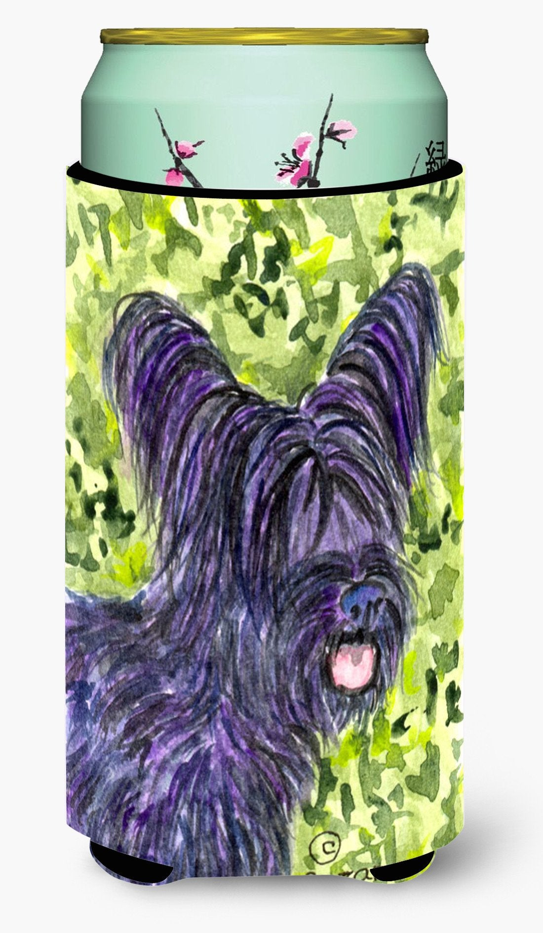 Skye Terrier  Tall Boy Beverage Insulator Beverage Insulator Hugger by Caroline's Treasures