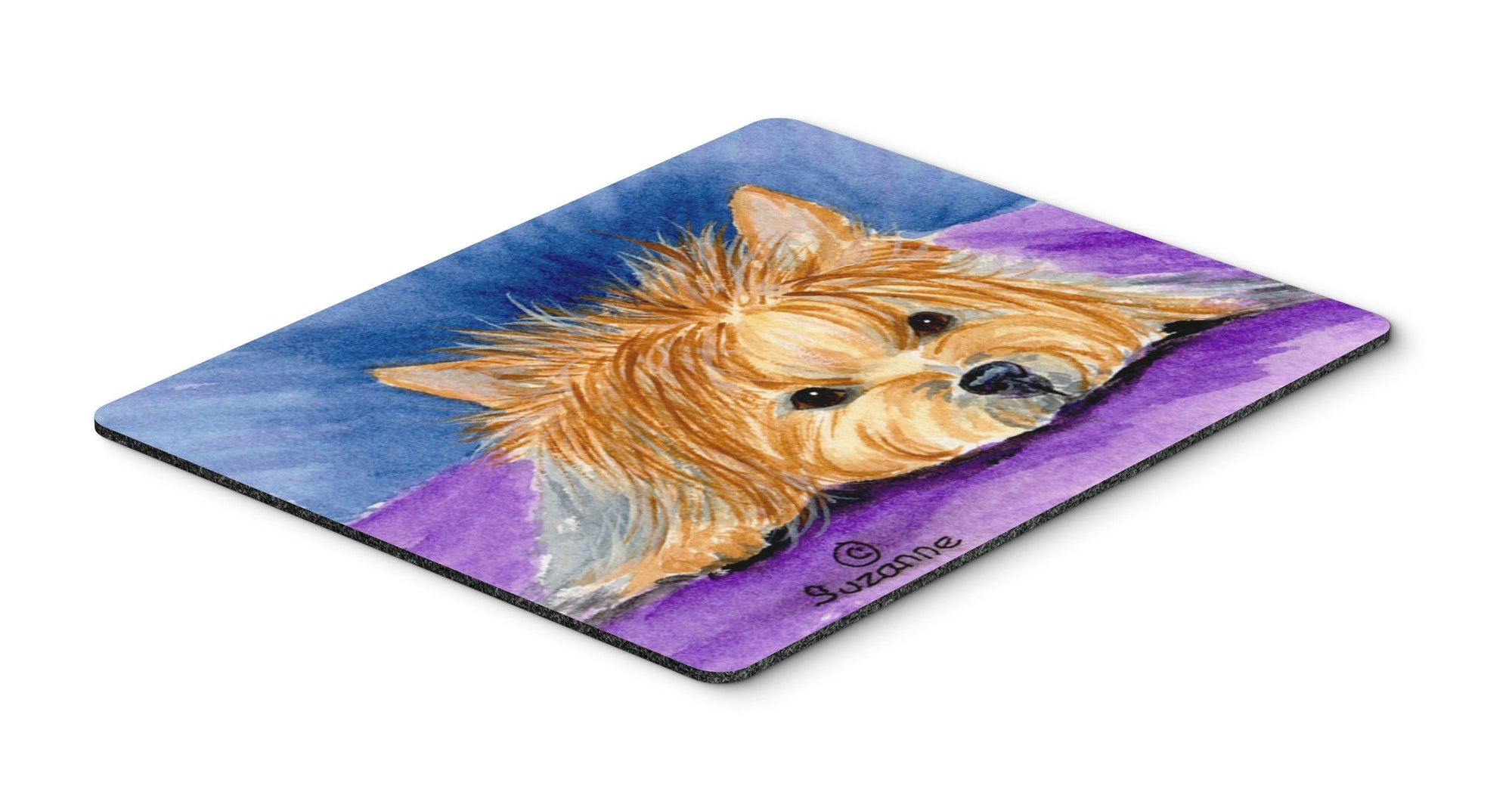 Yorkie Mouse pad, hot pad, or trivet by Caroline's Treasures