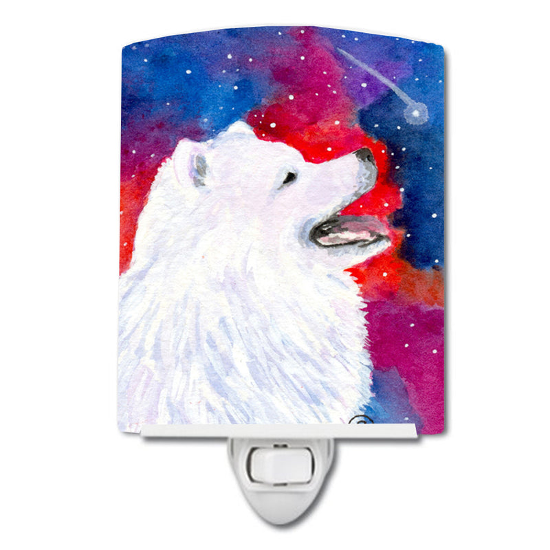 Buy this Samoyed Ceramic Night Light SS8752CNL