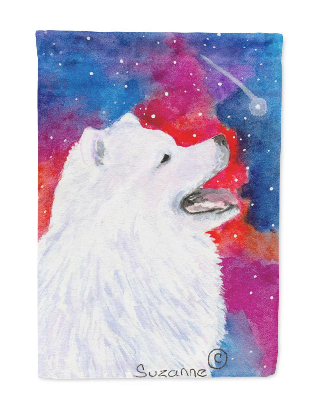 Buy this Samoyed Flag Garden Size