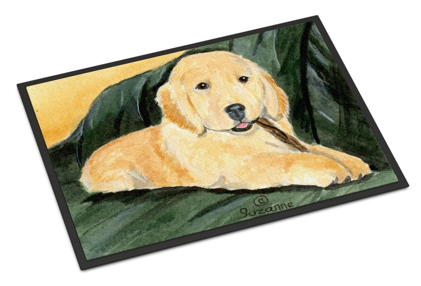 Golden Retriever Indoor or Outdoor Mat 24x36 Doormat by Caroline's Treasures