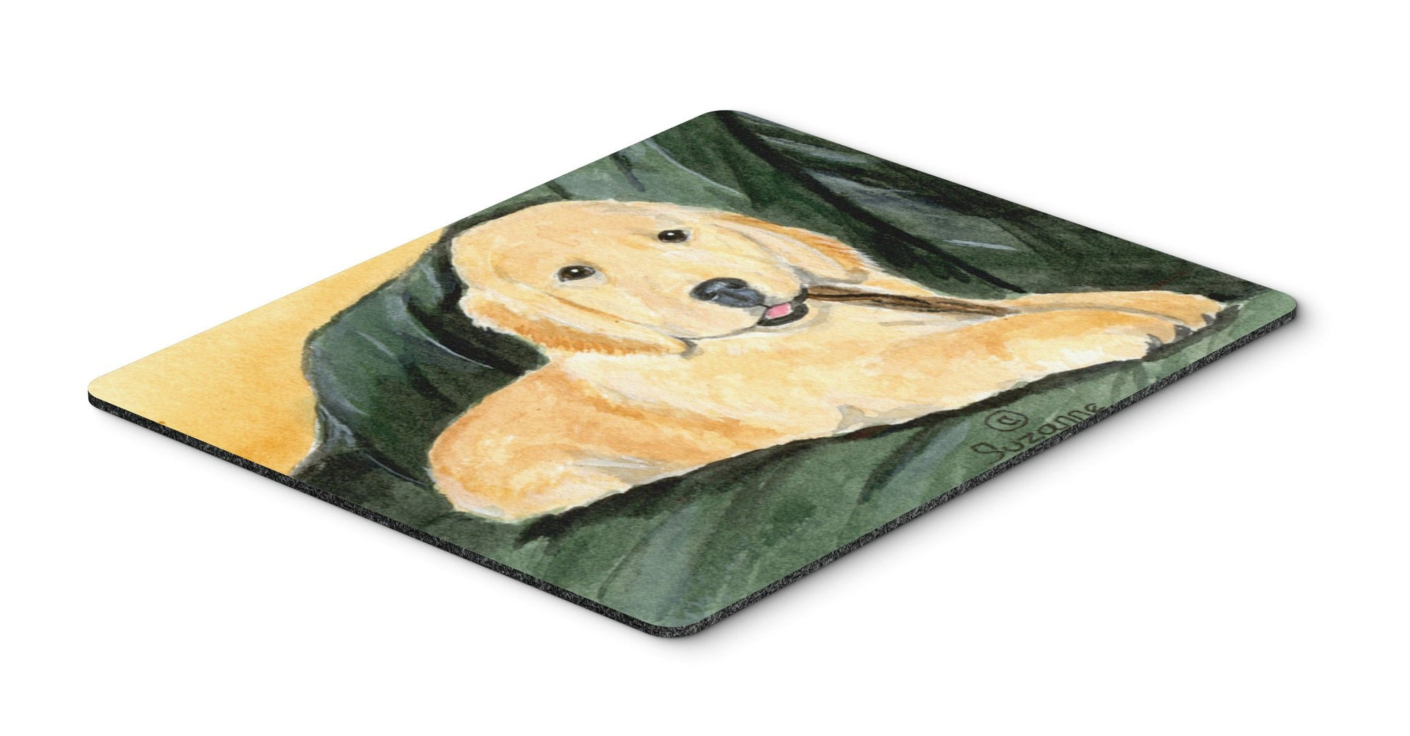 Golden Retriever Mouse pad, hot pad, or trivet by Caroline's Treasures