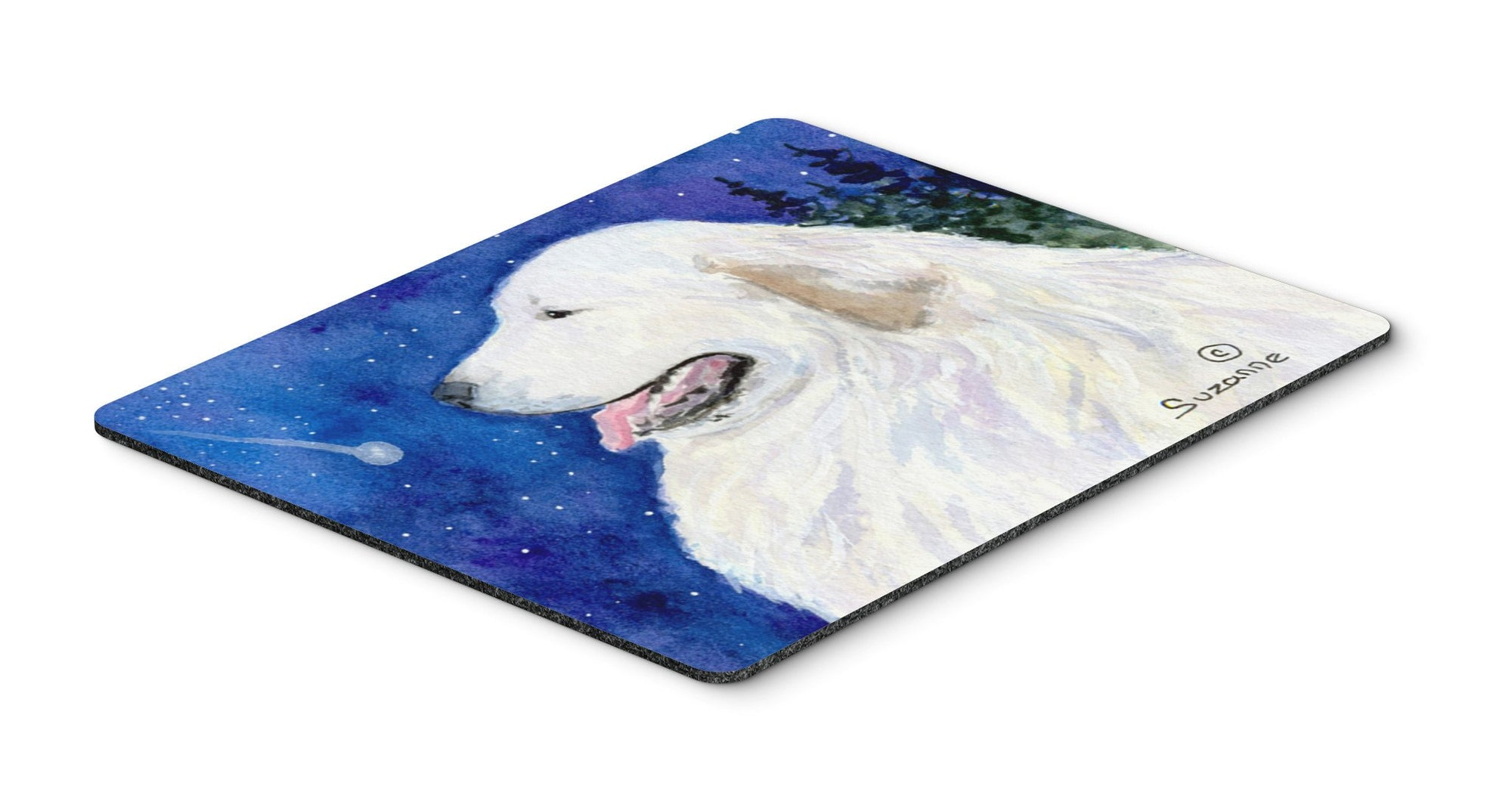 Great Pyrenees Mouse pad, hot pad, or trivet by Caroline's Treasures