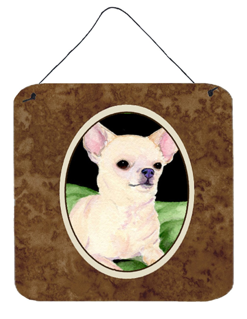 Chihuahua Aluminium Metal Wall or Door Hanging Prints - the-store.com