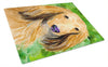 Dachshund Glass Cutting Board Large by Caroline's Treasures