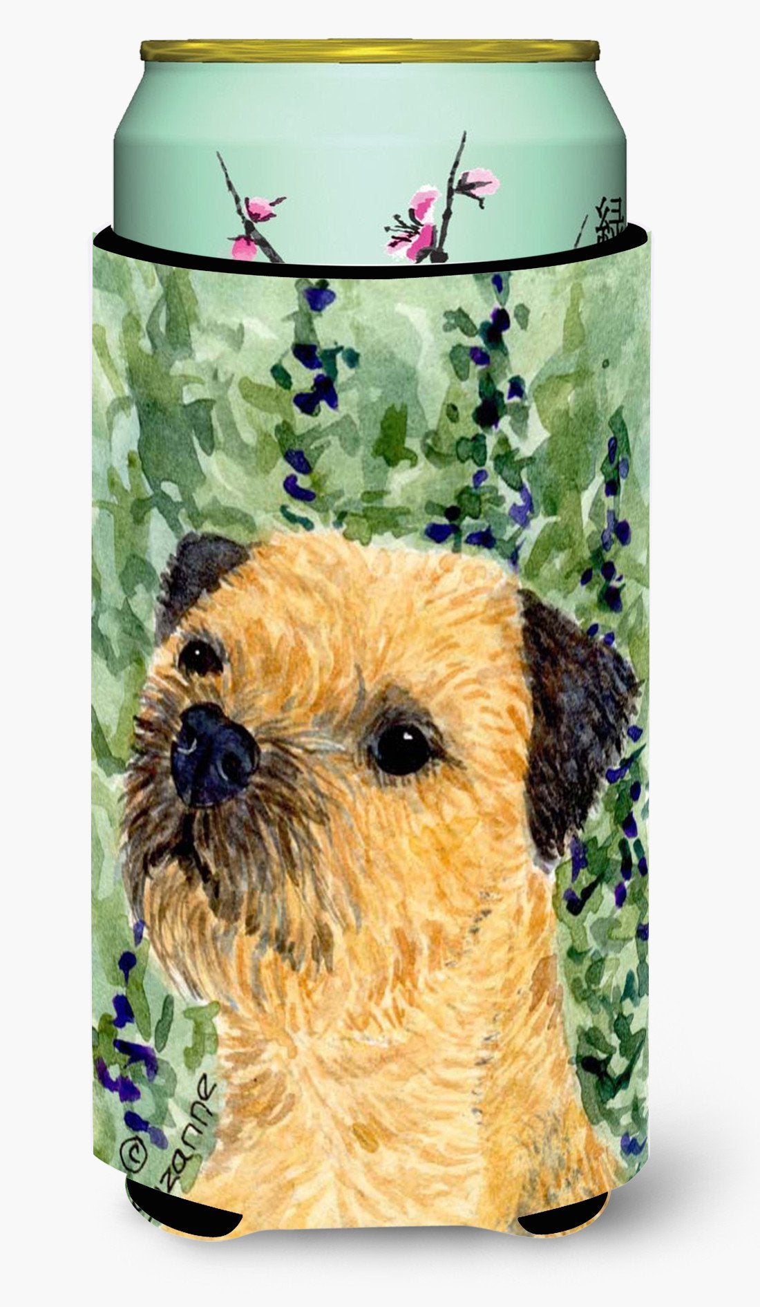 Border Terrier  Tall Boy Beverage Insulator Beverage Insulator Hugger by Caroline's Treasures