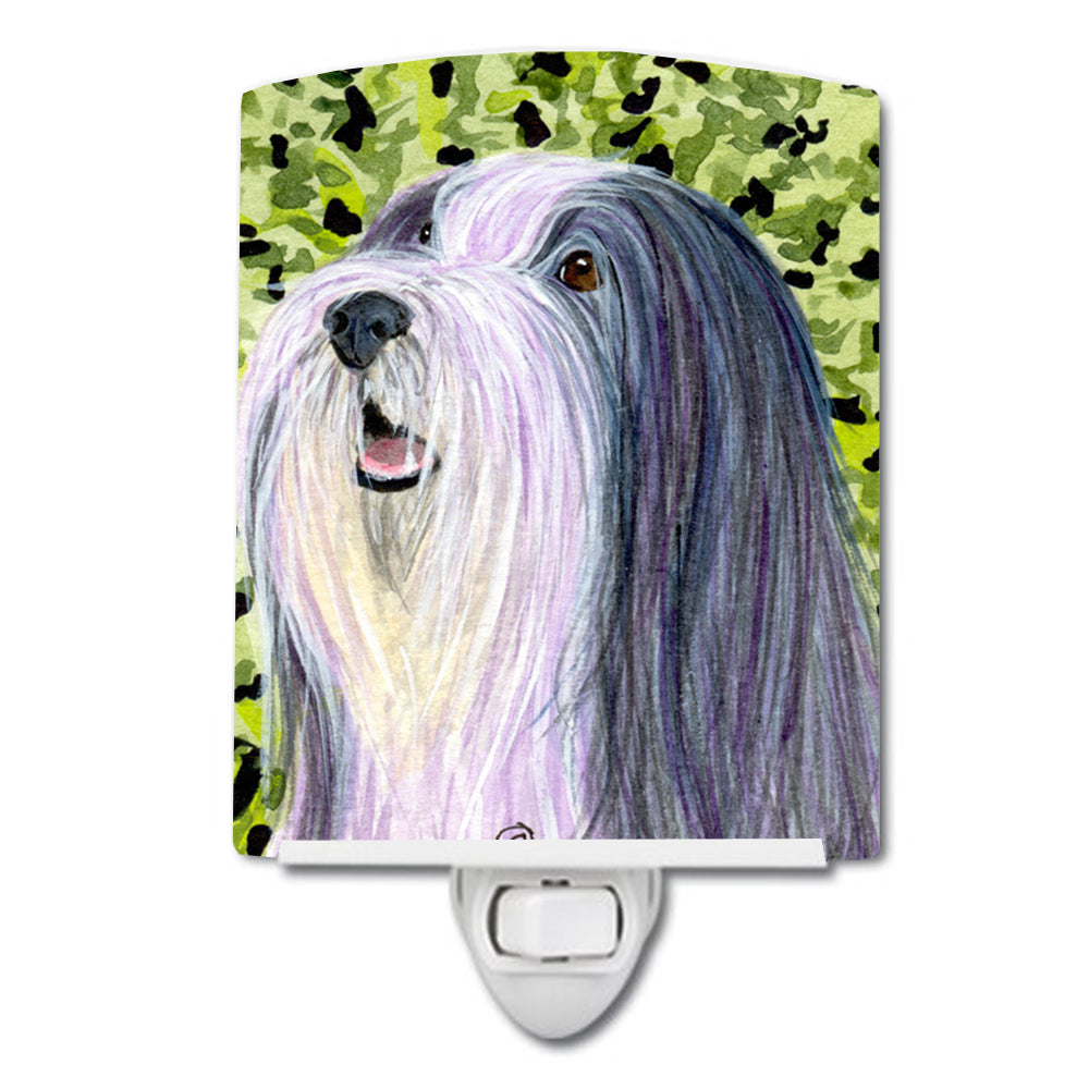 Buy this Bearded Collie Ceramic Night Light SS8808CNL