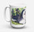 Buy this Bearded Collie Dishwasher Safe Microwavable Ceramic Coffee Mug 15 ounce SS8816CM15