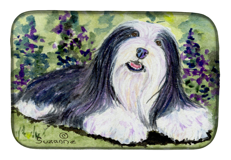 Buy this Bearded Collie Dish Drying Mat SS8816DDM