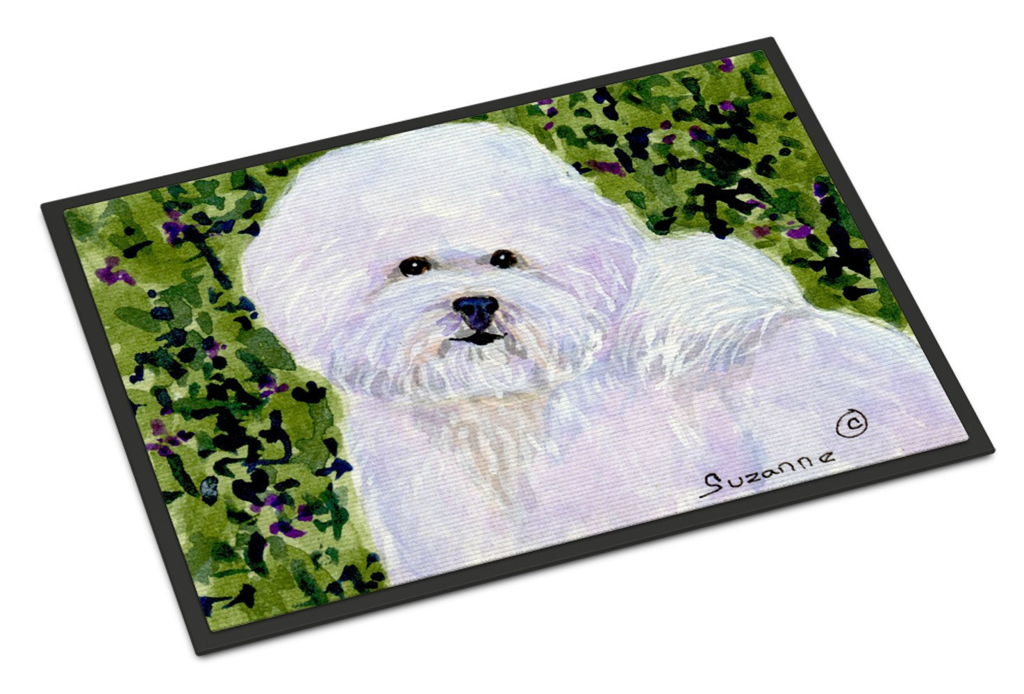 Bichon Frise Indoor or Outdoor Mat 24x36 Doormat - the-store.com