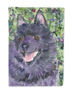 Buy this Schipperke Flag Garden Size