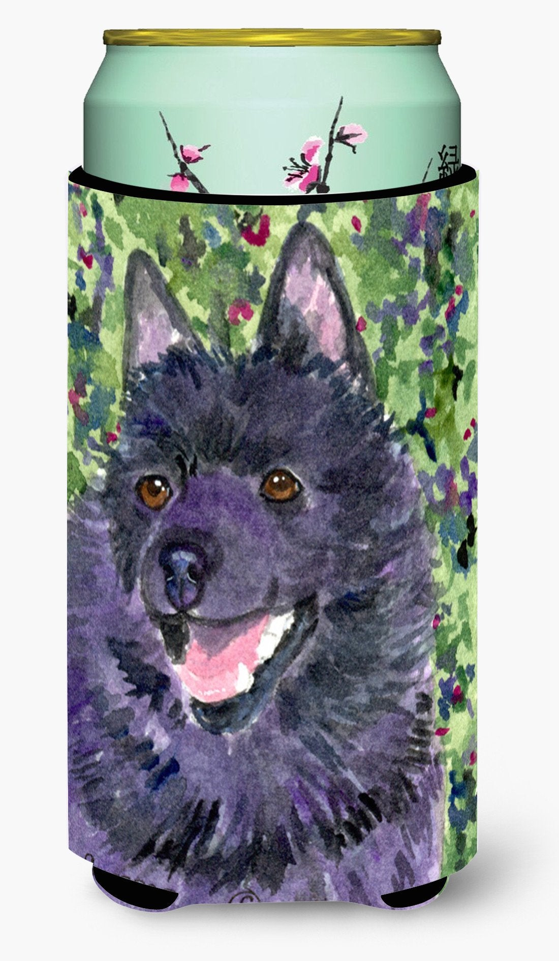 Schipperke  Tall Boy Beverage Insulator Beverage Insulator Hugger by Caroline's Treasures
