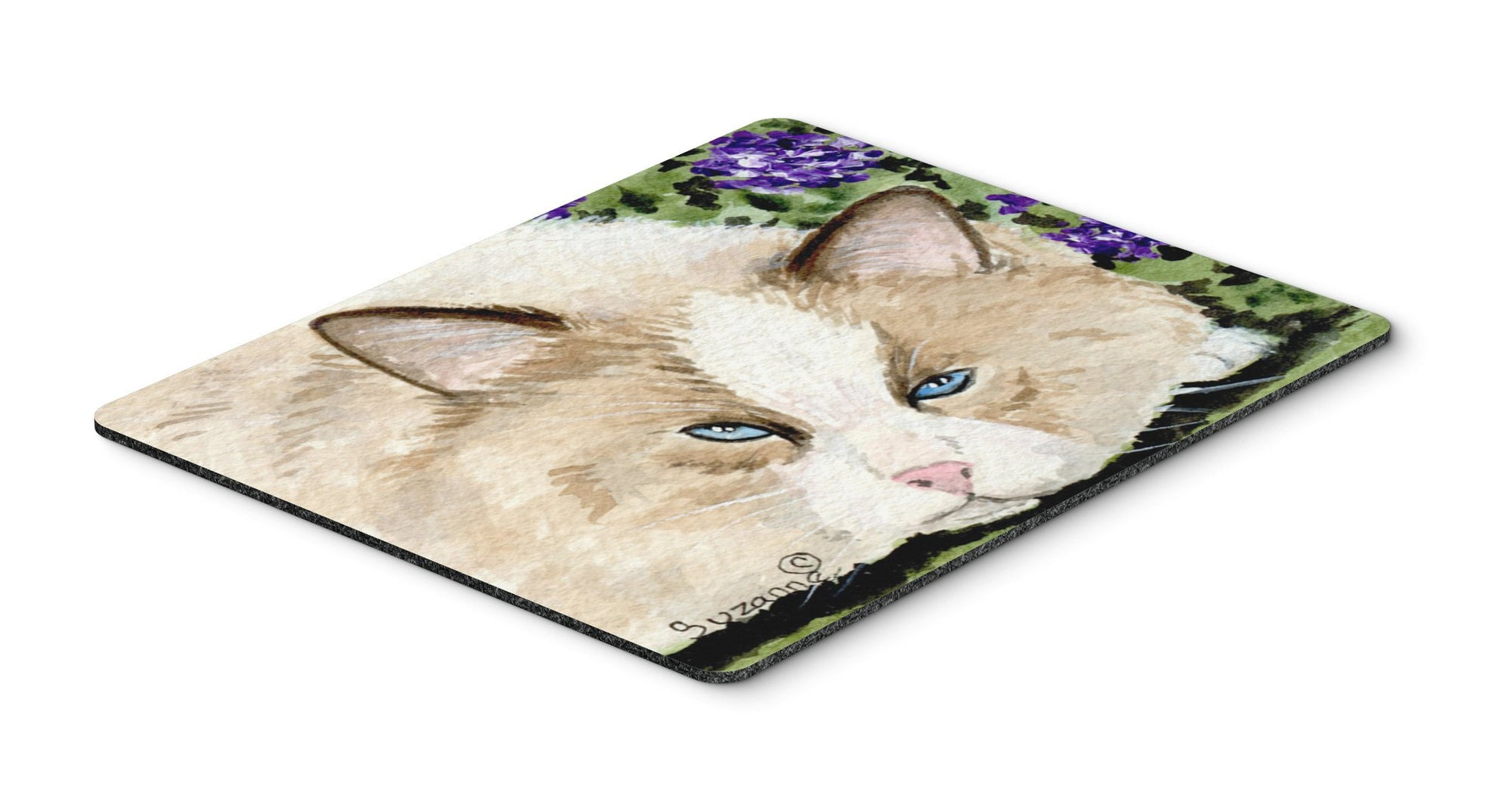 Cat Mouse pad, hot pad, or trivet by Caroline's Treasures