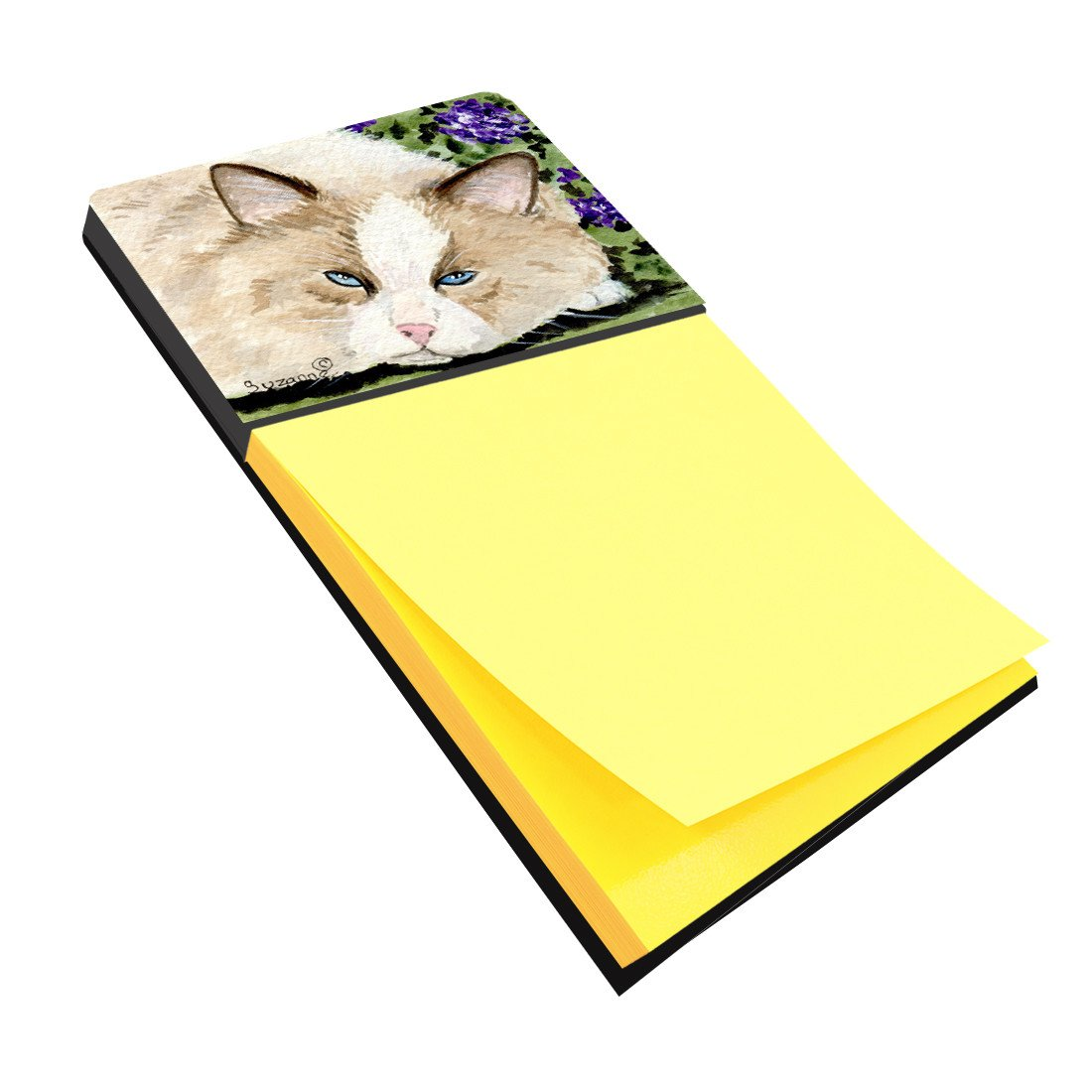 Cat Refiillable Sticky Note Holder or Postit Note Dispenser SS8825SN by Caroline's Treasures