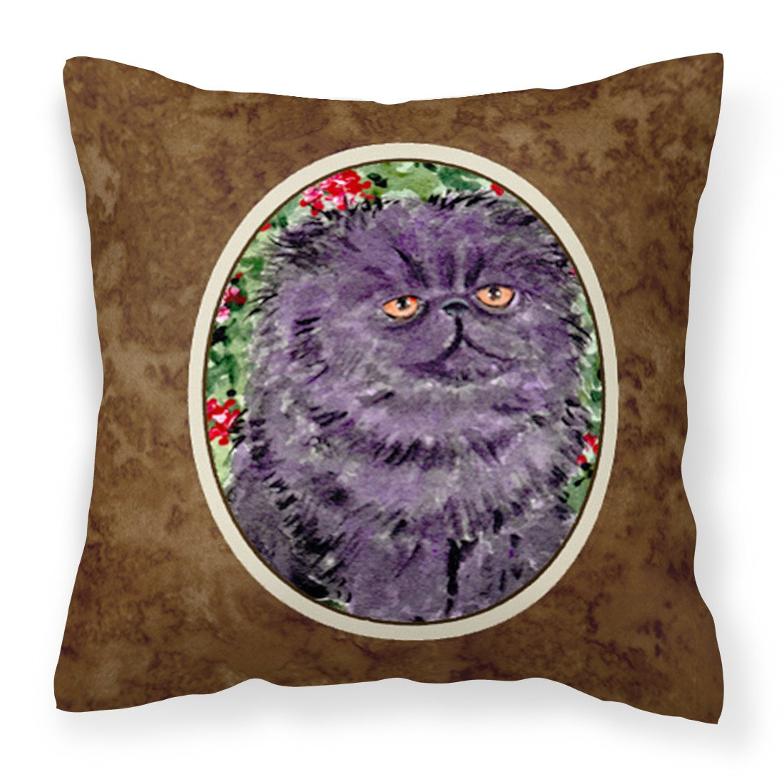 Buy this Persian Cat Fabric Decorative Pillow SS8827PW1414