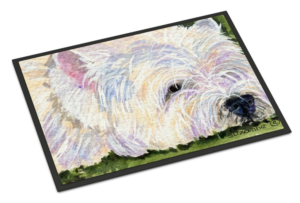 Buy this Westie Indoor or Outdoor Mat 24x36 Doormat