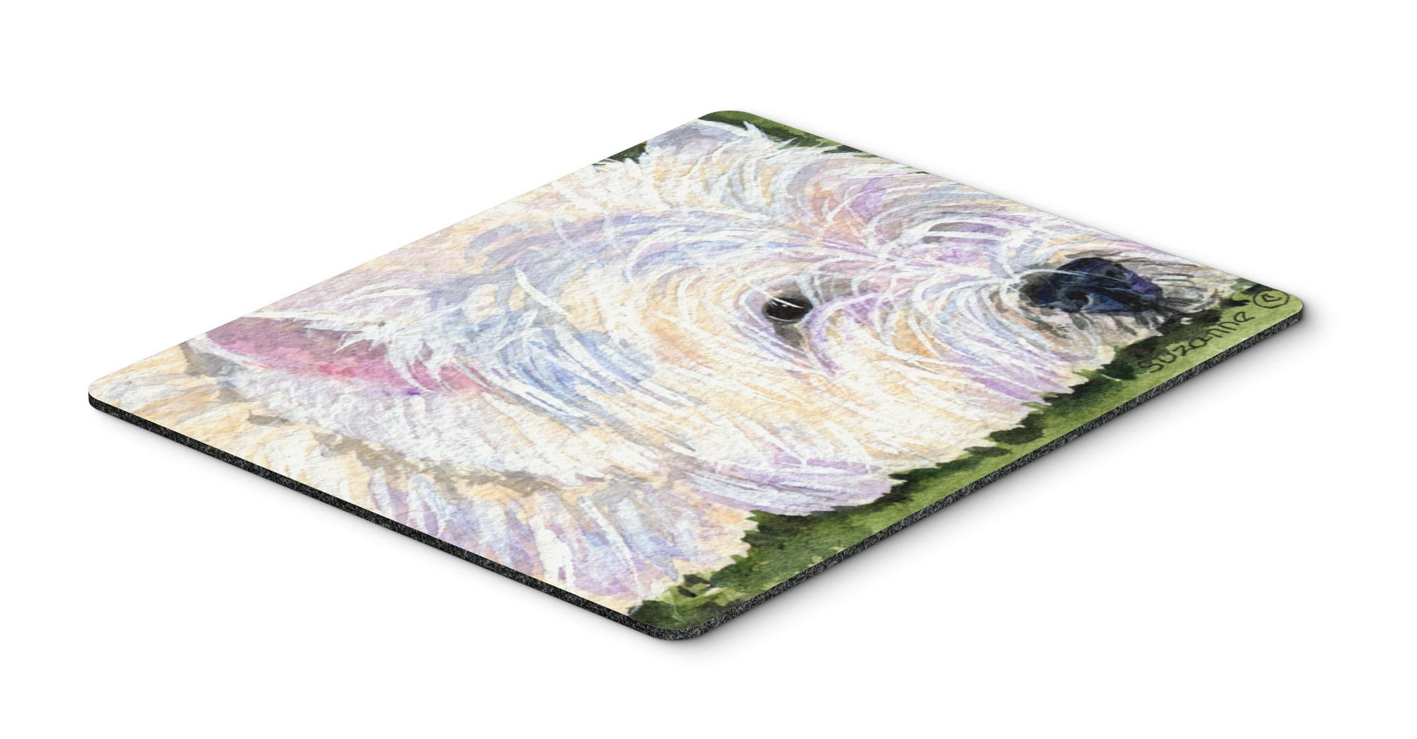 Westie Mouse pad, hot pad, or trivet by Caroline's Treasures