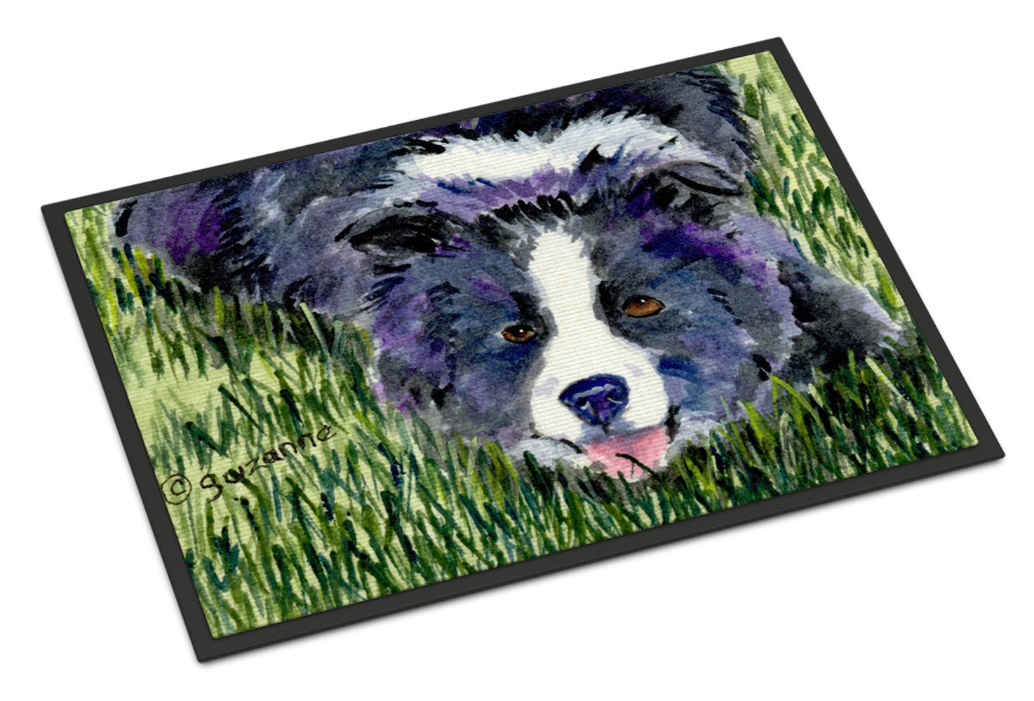 Border Collie Indoor or Outdoor Mat 24x36 Doormat - the-store.com