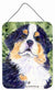 Bernese Mountain Dog Aluminium Metal Wall or Door Hanging Prints by Caroline's Treasures