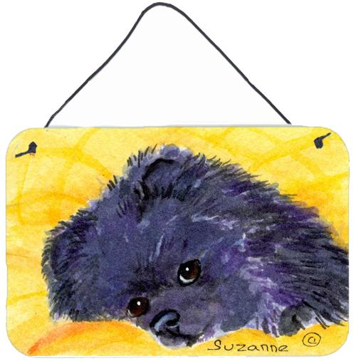 Buy this Pomeranian Indoor Aluminium Metal Wall or Door Hanging Prints