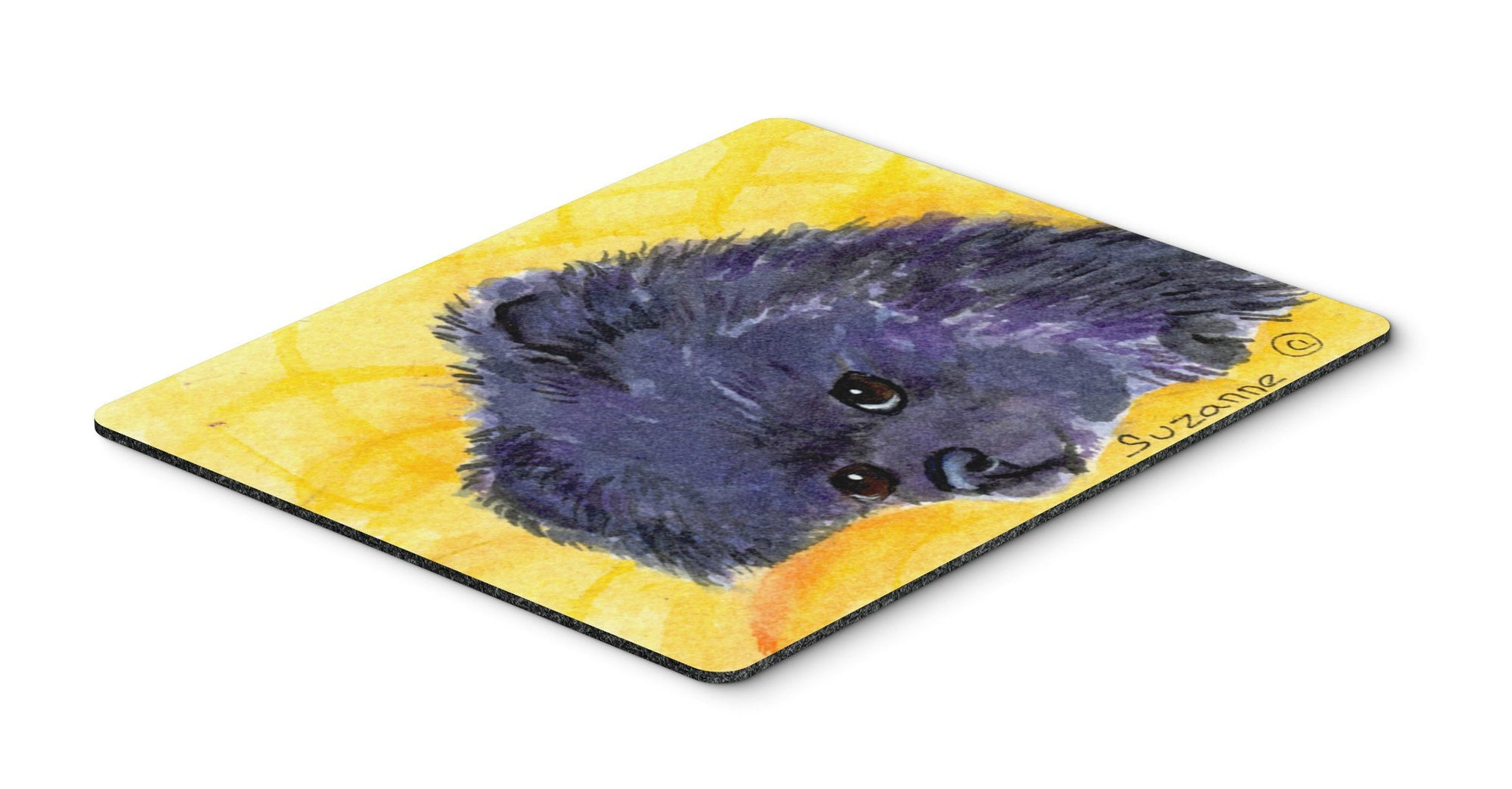 Pomeranian Mouse pad, hot pad, or trivet by Caroline's Treasures